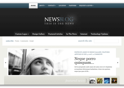 News Website