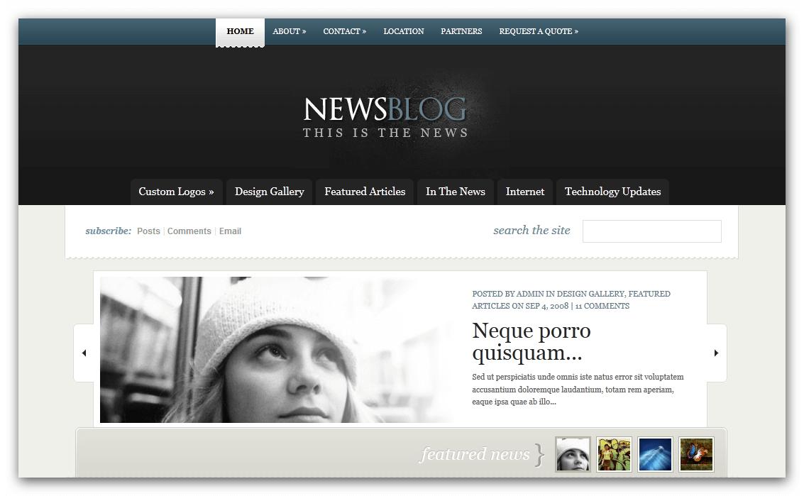 News Website