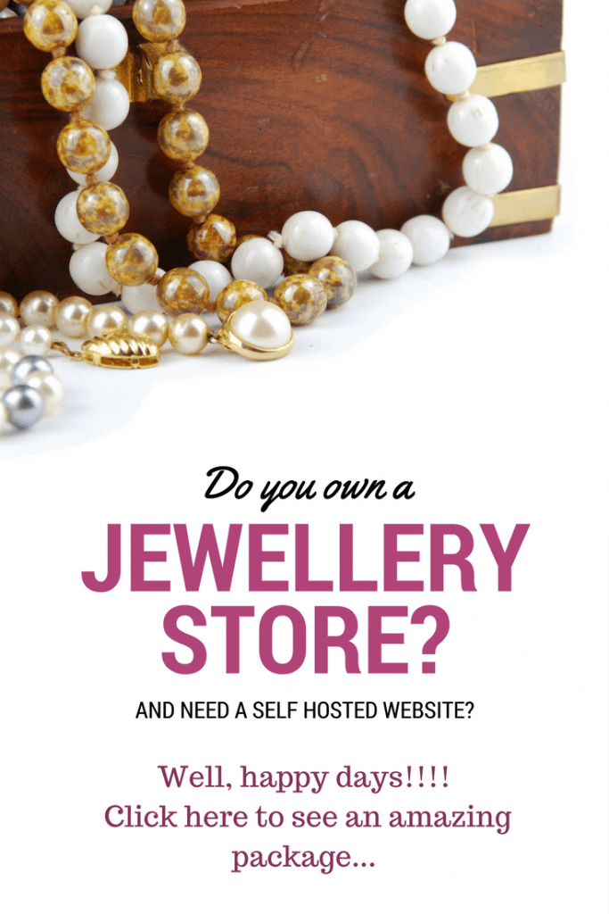 A WordPress jewelry theme