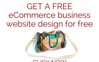 eCommerce Website Design Special Offer – January 2018